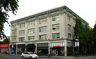 John Virginius Bennes - Broadway Hotel in Portland, Oregon.