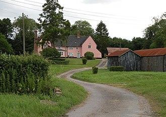 Brockley, Suffolk - Image: Brockley Brockley Hall