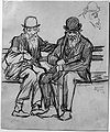 Brooklyn Museum - Study of Two Old Men - Jerome Myers.jpg