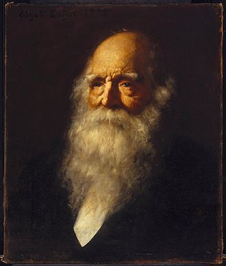 William Cullen Bryant - Portrait by Wyatt Eaton, ca 1878 (Brooklyn Museum)
