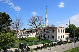 Islam in Austria - Mosque and Islamic centre in Vienna.