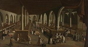 Old St. John's Hospital - St. John's Hospital in 1778