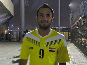 Brwa Nouri - Brwa playing for Iraq in 2016