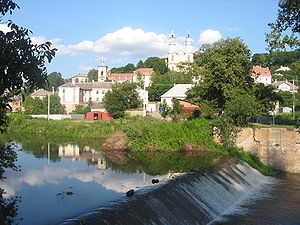 Strypa River - Image: Buchach 1