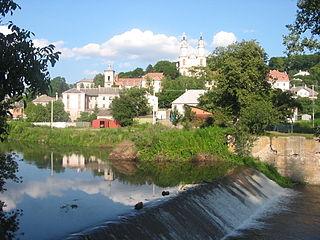 Strypa River river in Ukraine