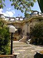 Bucuresti, Romania, Casa Oamenilor de Stiinta - Casa ASSAN (imagine dinspre gradina) B-II-m-B-19009.jpg