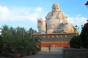 Vĩnh Tràng Temple - State of Budai (Bố Đại)