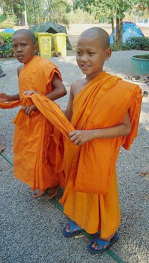 Samanera - Śrāmaṇeras in Thailand