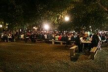 Festa di santa Reparata, domenica sera: cena