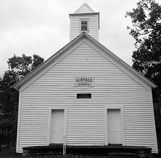 National Register of Historic Places listings in Wirt County, West Virginia - Image: Buffalo Church Wirt Cty