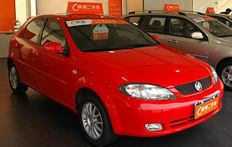 Daewoo Lacetti - 2008 Buick Excelle HRV