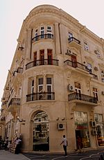 Building at Nizami Street, Baku, 2010.jpg