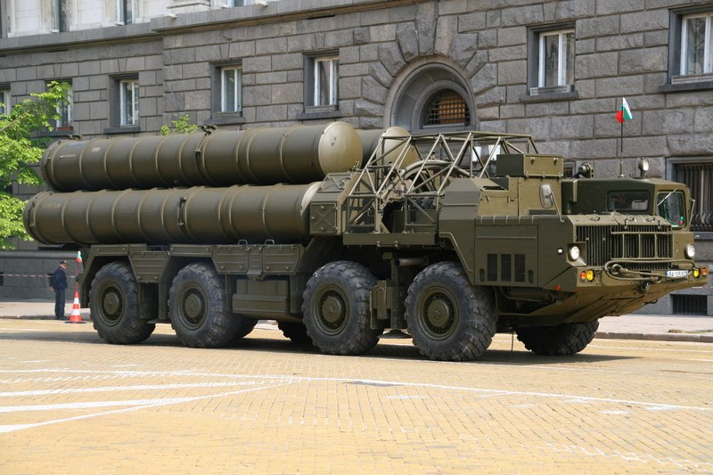 Bulgarian sa-10 launcher