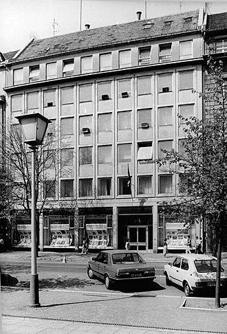 Embassy of the United Kingdom, Berlin - Building Unter den Linden 32-34
