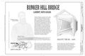 Bunker Hill Bridge, Title Sheet - Bunker Hill Bridge, Spanning Lyle Creek, bypassed section of Island Ford Road, Claremont, Catawba County, NC HAER NC-46 (sheet 1 of 6).png