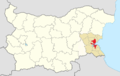 Burgas Municipality Within Bulgaria.png