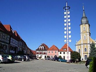 Burgkunstadt - Image: Burgkunstadt pole