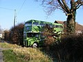 Bus in a front garden^ - geograph.org.uk - 695450.jpg