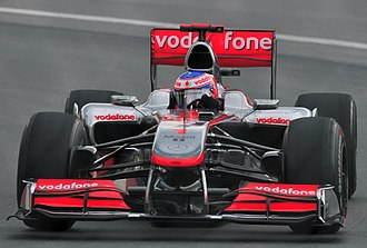 2010 Canadian Grand Prix - Jenson Button set the fastest time in the first free practice session.