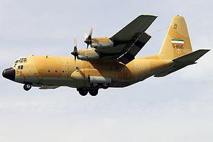 C-130E Iran Air Force THR May 2011.jpg