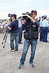 CAF TV Cameraman in Hsinchu Air Force Base Apron 20151121.jpg