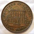 CANADA, QUEBEC, BANK OF MONTREAL 1842 -ONE PENNY TOKEN a - Flickr - woody1778a.jpg