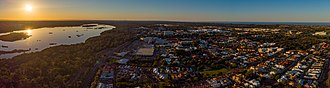 Joondalup - Aerial view of Joondalup