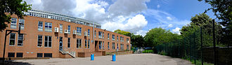 Christ's College, Finchley - Image: CCF Panorama