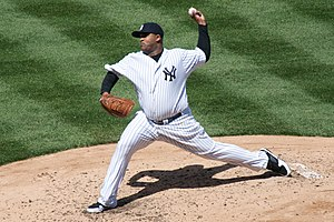 CC Sabathia - Sabathia with the Yankees in April 2009