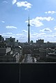 CN Tower viewed from University College Tower, U of Toronto, 1987 - panoramio.jpg