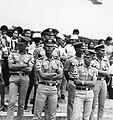 COLLECTIE TROPENMUSEUM Kadetten van de Officiersschool bij de Studenten Sportwedstrijden in het stadion Pertamina te Palembang-Pladju TMnr 20000144.jpg