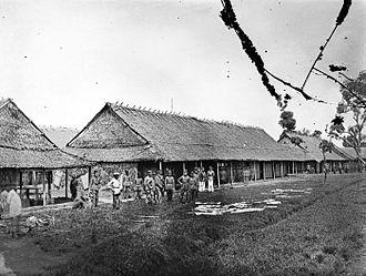 Pangkajene and Islands Regency - Barracks in Pangkajene (Pankajene)