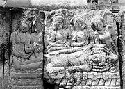 COLLECTIE TROPENMUSEUM Reliëf op de aan Brahma gewijde tempel op de Candi Lara Jonggrang oftewel het Prambanan tempelcomplex TMnr 10016175