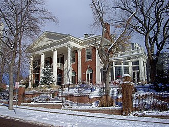 Colorado Governor's Mansion - Image: CO governors mansion