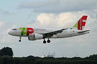 CS-TTE - A319 - TAP Portugal