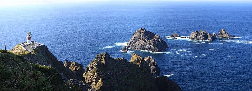 Cabo Ortegal e Faro. Cariño, Galiza
