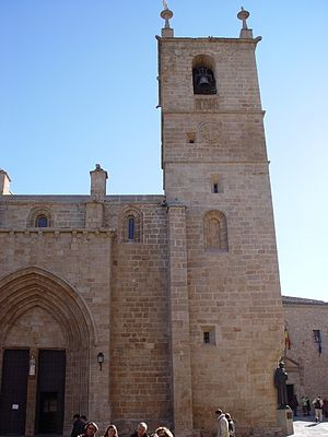 Roman Catholic Diocese of Coria-Cáceres - Concatedral de Santa María, Cáceres  (Co-Cathedral of St. Mary)