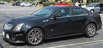 Cadillac V-Series - Second-generation Cadillac CTS-V Sedan