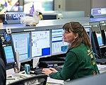 Cady Coleman as spacecraft communicator (CAPCOM).jpg