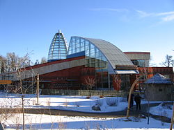 The African Savannah Building at the Calgary Zoo