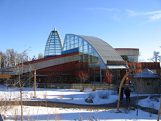 Calgary Zoo - The Destination Africa Savannah Building.