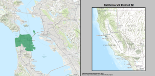Californias 12th congressional district U.S. House district in San Francisco, California