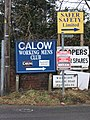 Calow - signage - geograph.org.uk - 1115692.jpg