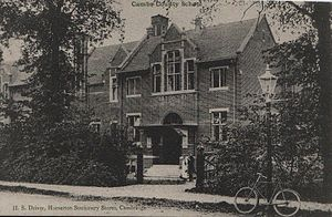 William T. Stearn - Image: Cambridgeshire High School for Boys 1900