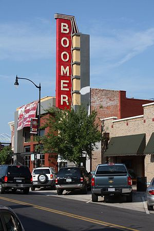 Campus Corner - Boomer Theater in Campus Corner