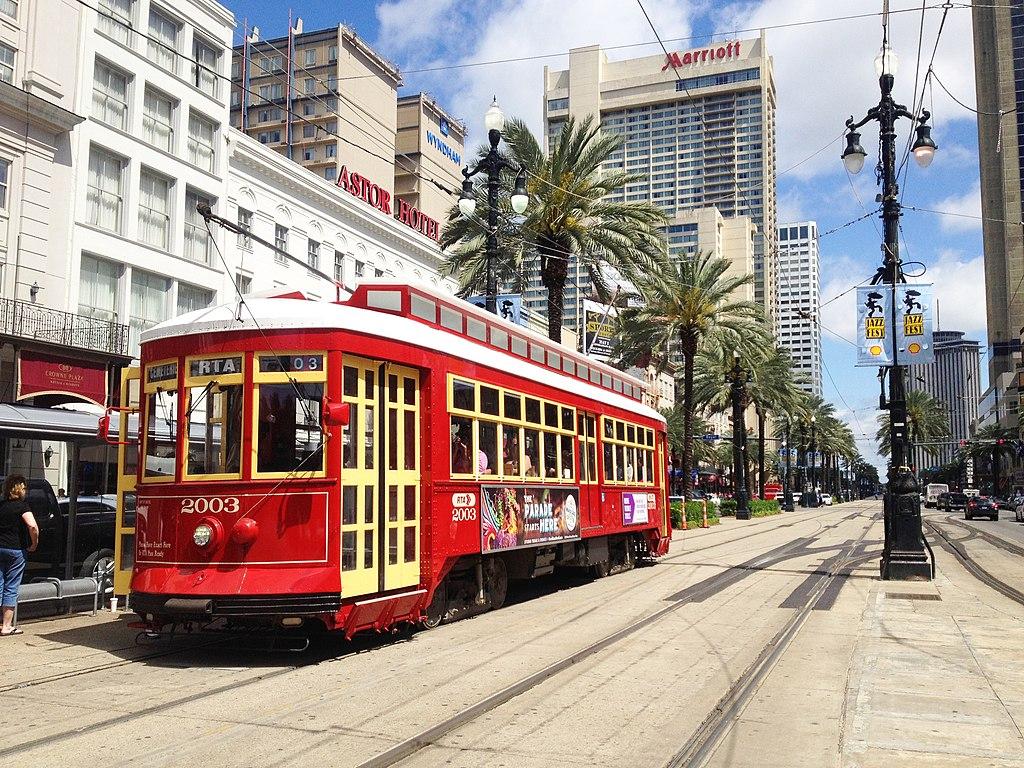 Streetcar di New Orleans