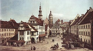 The Marketplace in Pirna