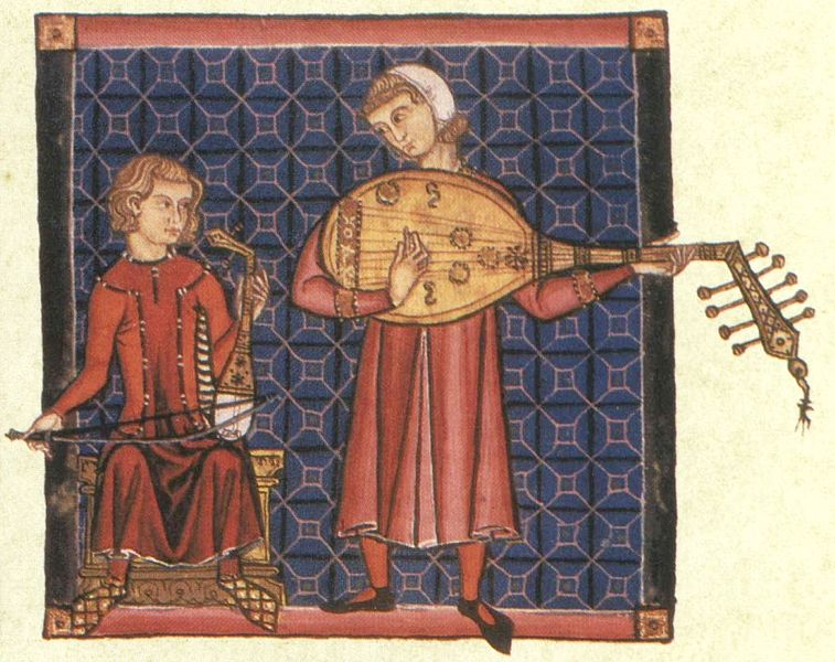 Fichier:Cantiga bowed plucked lutes.jpg