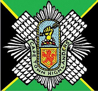Cape Town Highlanders Regiment - SANDF Cape Town Highlanders Regiment emblem