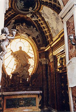 Filippo Juvarra - Cappella Antamori by Juvarra and Le Gros